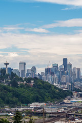 Seattle Skyline Spring 2019