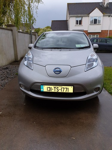 First electric car visit
