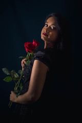 Mélusine petite robe noire 3 - Photo of Villars