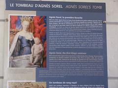 Loches-Tombe d'Agnès Sorel (1)
