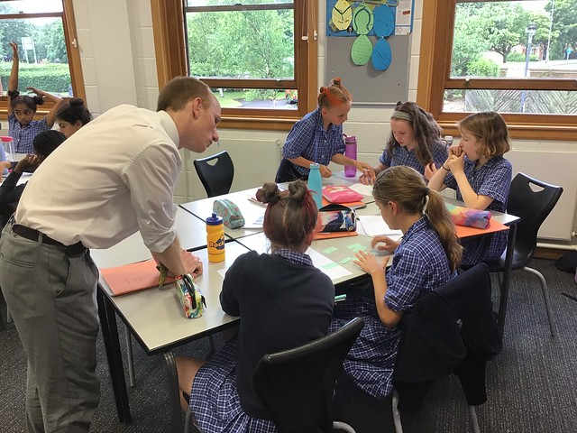Year 6: Learning about coastal defences with Mr Earp!