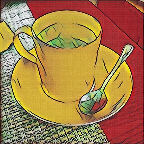My Cappuccino—digital pop art