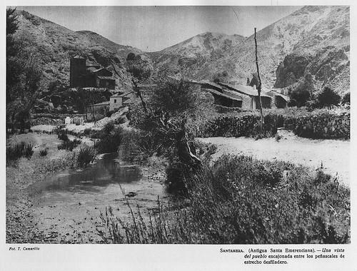 Santamera, vista del pueblo