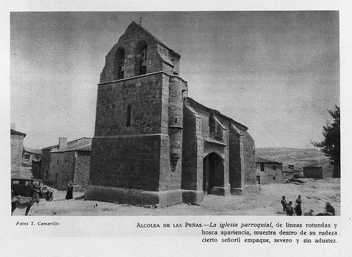 Alcolea del Pinar, iglesia