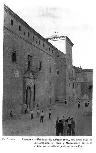 Pastrana, fachada del palacio ducal