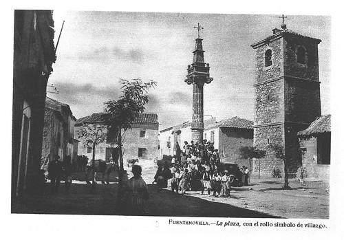 Fuentenovilla, plaza
