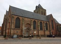 Eglise et château d'Esquelbeck - Nord