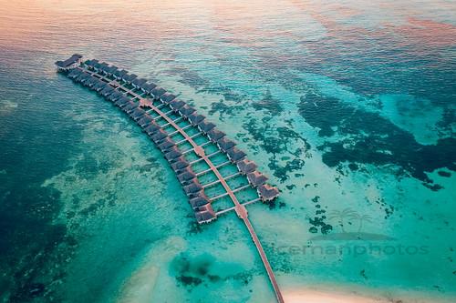Aerial Maldives
