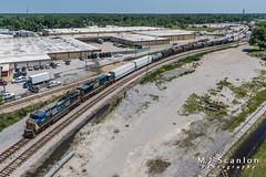 CSXT 7823 | GE C40-8W | CSX Leewood Yard