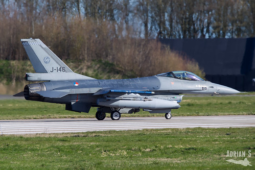 J-146 F-16AM Fighting Falcon | EHLW/LWR | 01.04.2019