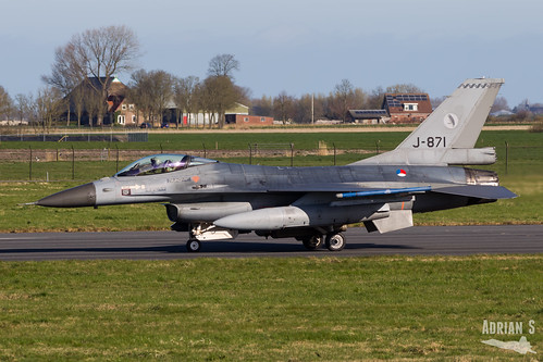 J-871 F-16AM Fighting Falcon | EHLW/LWR | 01.04.2019