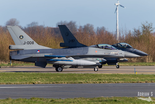 J-008 F-16AM Fighting Falcon | EHLW/LWR | 01.04.2019