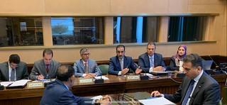 اجتماع مجلس رؤساء البعثات العربية