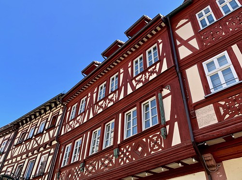 Red in Miltenberg