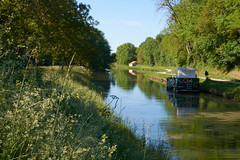 Sur le canal du Nivernais - Photo of Bessy-sur-Cure