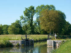 Sur le canal du Nivernais - Photo of Sainte-Pallaye