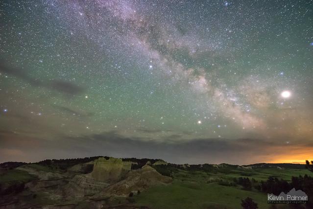 Milky Way at Reva Gap