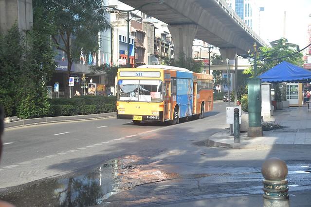Bangkok Bus rt 511 Soi 13 12-1-17