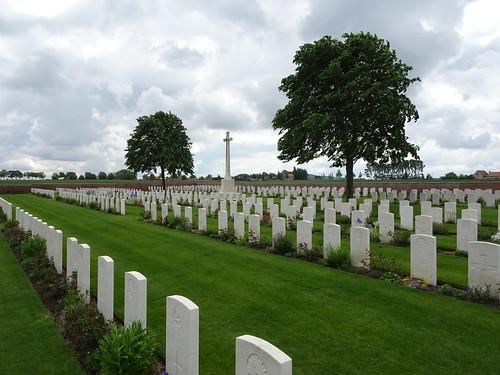 The Huts cemetery, Belgium