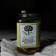 Grilled Artichoke Halves