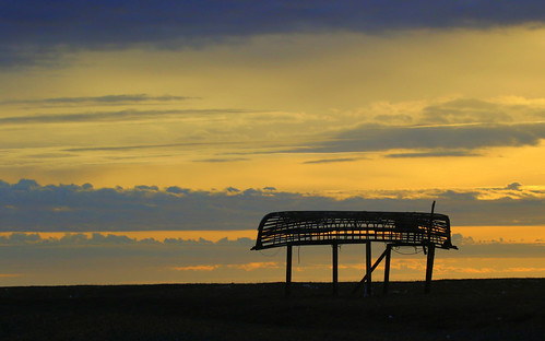 Sunrise on Gambell
