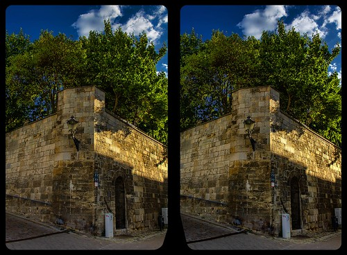Halberstadt fortification 3-D / CrossView / Stereo