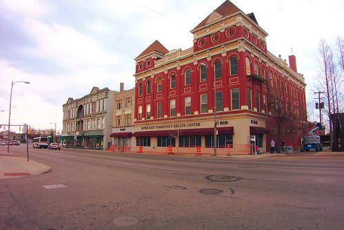 Toledo Ohio - Weber Block - River East Community Health Center - Flory's Big Store