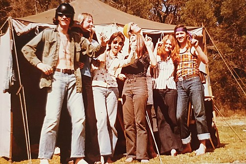 House of the New World West Ryde coffee house team retreat in my younger days 1975,