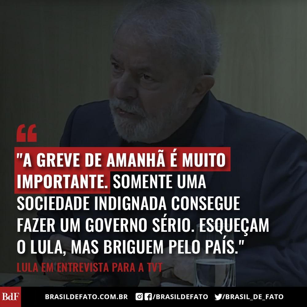 O País Finalmente Vai Conhecer A Verdade Diz Lula Sobre