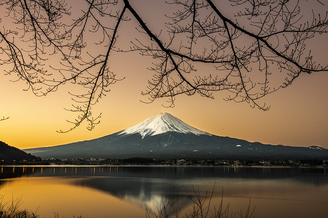 Fuji-san at morning - Download Photo - Photohab - Beautiful and Free Photos Search Engine