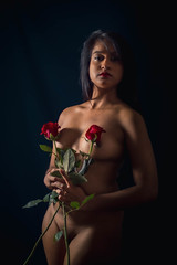 Mélusine roses 1 - Photo of Roche-la-Molière