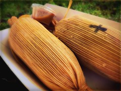 first tamales of the season