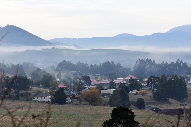 hopfields around New Norfolk Tasmania