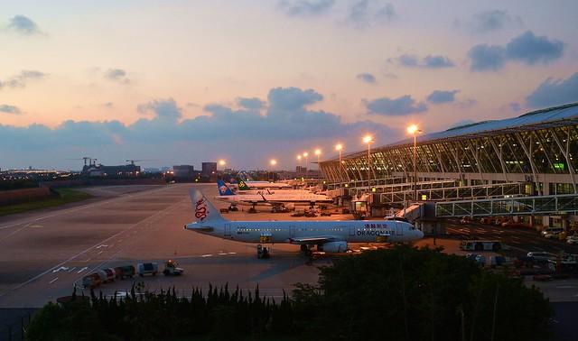 Shanghai - Pudong Airport Dusk