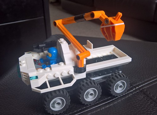 Classic Space - Mobile Exploration Rover