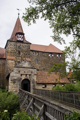 Castle Lauf an der Pegnitz in Germany