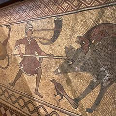 Mosaicos en la Catedral, Lescar