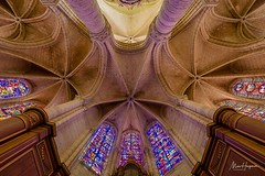 Soissons Cathedral. Ambulatory. - Photo of Vauxbuin