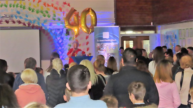 Congratulations to St Ann's School Celebrating their 40th Anniversary