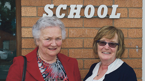 Ms Edna Murphy and Ms Mary Cullen Thanks to the Echo for this Photo