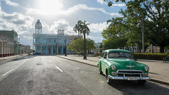 Ferrer Palace and a Car