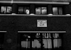 8 - Nogent-sur-Marne -Rue Bauyn de Perreuse - Lycée Edouard Branly, Façade, Détail - Ombres et reflets