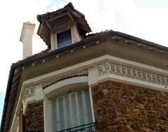 7 - Nogent-sur-Marne -Rue Bauyn de Perreuse - Façade, Détail