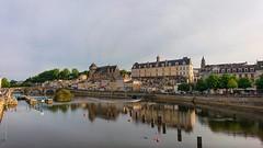 La Mayenne à Laval.