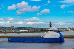 NAO Guardian Departing Aberdeen Harbour 14/06/2019.