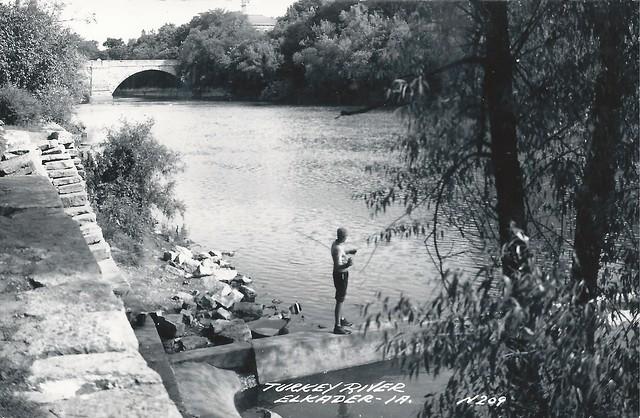 Elkader, Iowa, Turkey River, Bridge