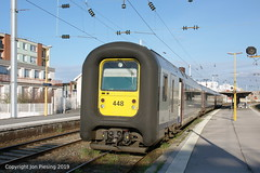 SNCB 448 at Maubeuge (France) - Photo of Assevent