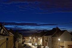 Lichtende nachtwolken  NLC 13 juni 2019 0h15 - Photo of Killem