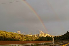 On A8 between Aix en Provence and Toulon approaching Toulon. 00000PORTRAIT_00000_BURST20190525200848865