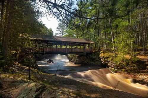 Bridge Over Amnicon Falls 20190526-_DSC2841